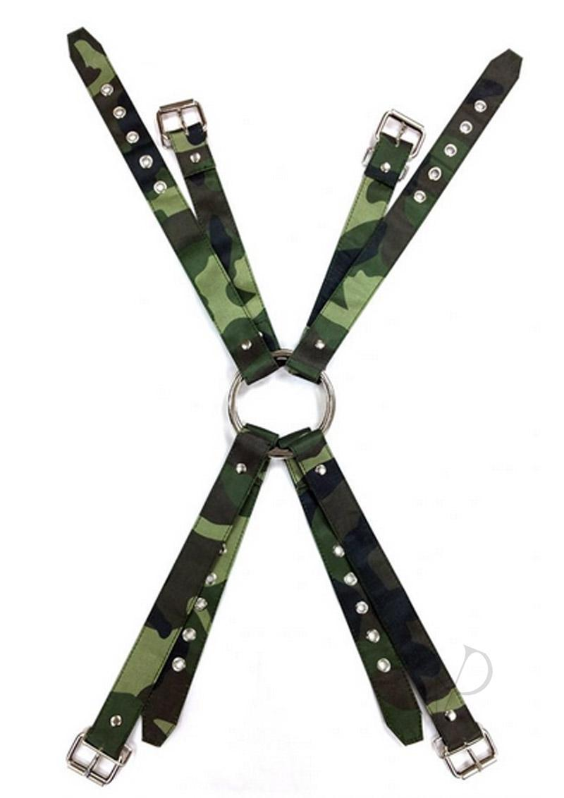 Rouge Army Camouflage Chest Harness Medium